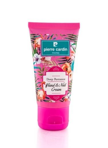 Pierre Cardin Deep Romance Çiçek Aromalı Keratin İçeren E Vitaminli Nemlendirici El Kremi - 50 ML Renksiz